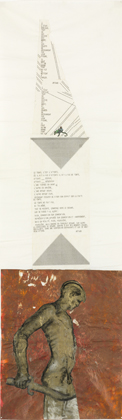 Nancy Spero small Codex Artaud XXI